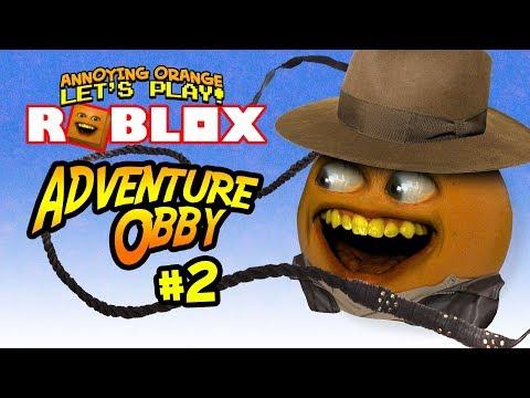 Roblox: ADVENTURE Obby #2 [Annoying Orange Plays]