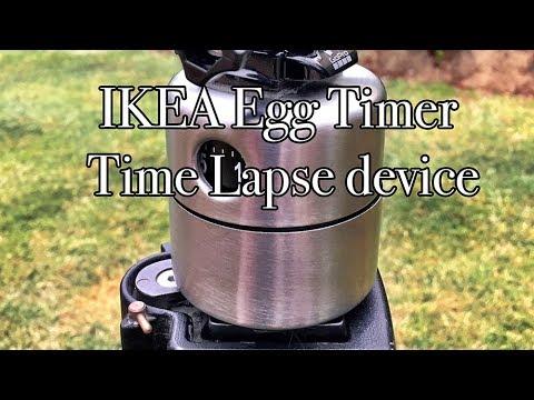 IKEA Egg Timer, Time Lapse Machine