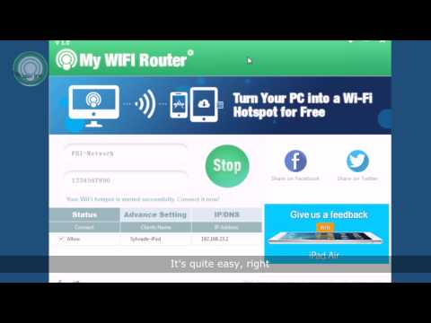 3 Steps to Create a Free WiFi Hotspot on Your Laptop - My WIFI Router