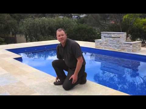 Limestone Pavers for Swimming Pool Surrounds