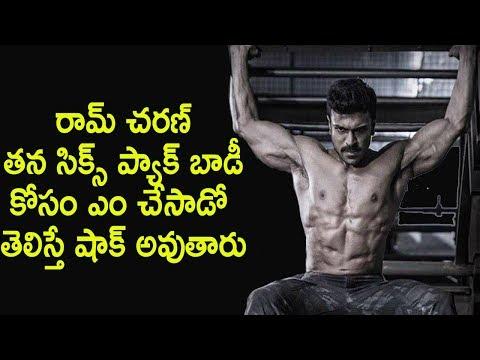 Dhruva six pack workouts Ram charan six pack workouts by fitness model chaitanya krishna