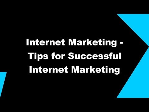 Internet Marketing Tips And Tricks - How To Make Money With MarketinG Online