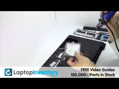 Acer Aspire E1 Hard Drive Replacement - Install E1-521 E1-571 E1-522 E1-510 E1-530  E1-470