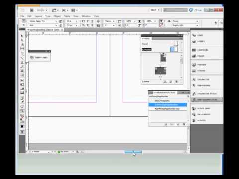 InDesign Training : How to Add Page Numbering in Adobe InDesign CS5