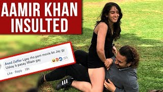 Aamir Khan Insulted Terribly By Fans For His Photo With Daughter Ira Khan