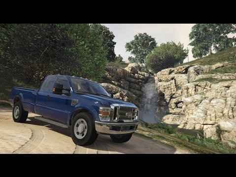 Grand Theft Auto 5 - Ford Super Duty 6.4 Powerstroke Mod! - REVIEW - GTA 5