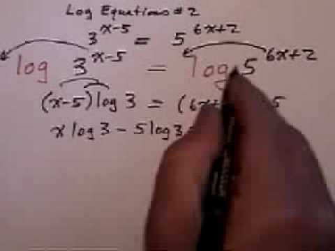 Exponential equations with different bases (part 2)