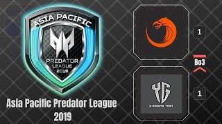 TNC vs YG  / Game 3 / Bo3 / Asia Pacific Predator League 2019 / Dota 2 Live
