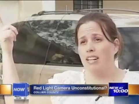 Red Light Cameras Unconstitutional?