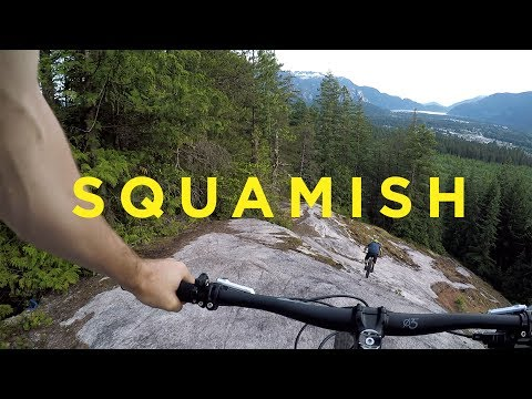 Steep Rock Rolls in Squamish