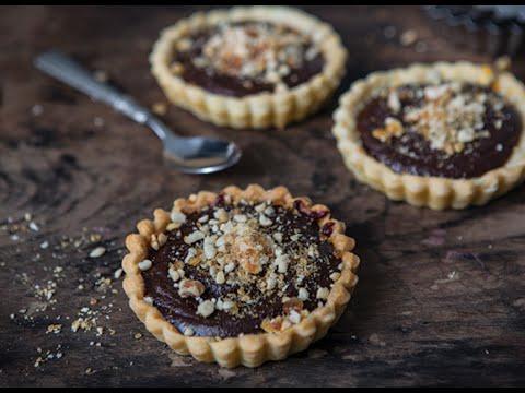 Jus Create - Chocolate & Peanut Ganache Tartelette - Pastry Recipes from Jus-Rol™