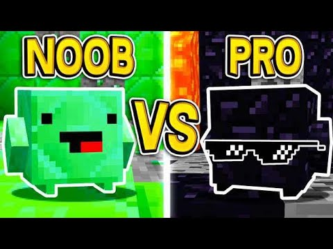 MINECRAFT EMERALD BLOCK vs OBSIDIAN BLOCK!!