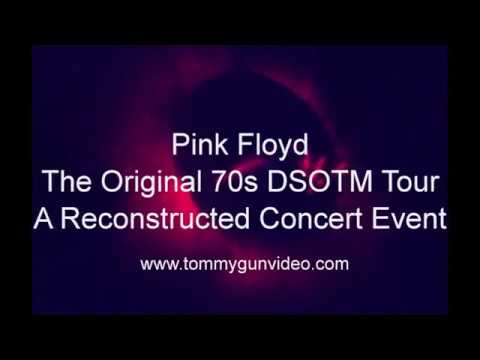 Pink Floyd - Newly reconstructed Dark Side Of The Moon footage!