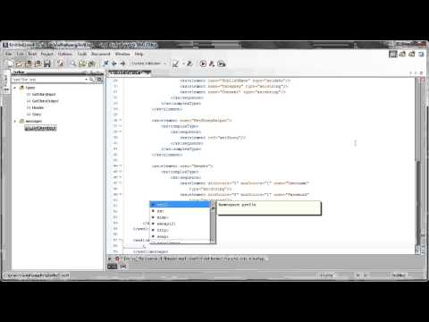 How to Create a New WSDL from Scratch with oXygen XML Editor 15