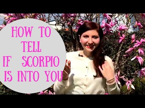How to tell if Scorpio is into you