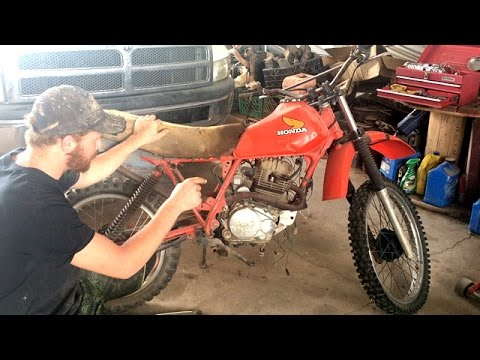Dirt Bike Restore On a Budget | Part 1 Carburetor Clean And Disassembly
