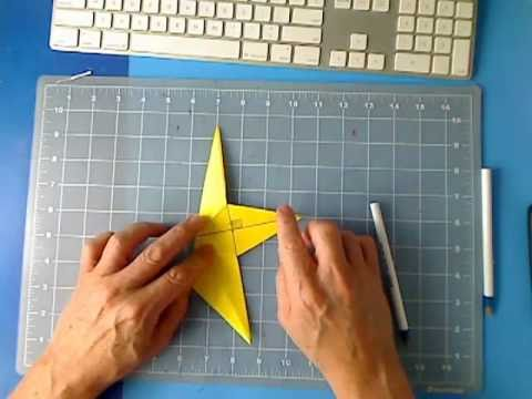 Fold Cut A 5 Five Pointed Star