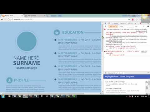 SVG implementation in HTML through Jquery..!.., Part -- 2