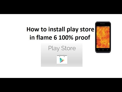 How to install play store in LYF flame 6. with 100% proof