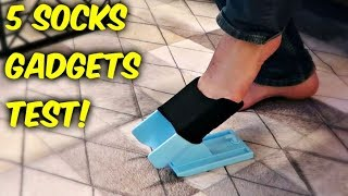 5 Socks Gadgets put to the Test!