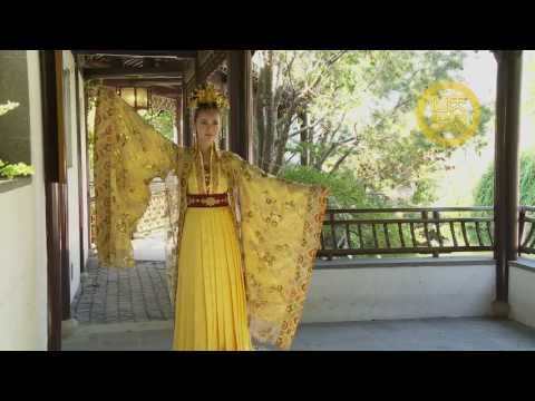 Han Couture Tang Dynasty-Chinese traditional clothing唐代漢服 3 大袖衫 禮服