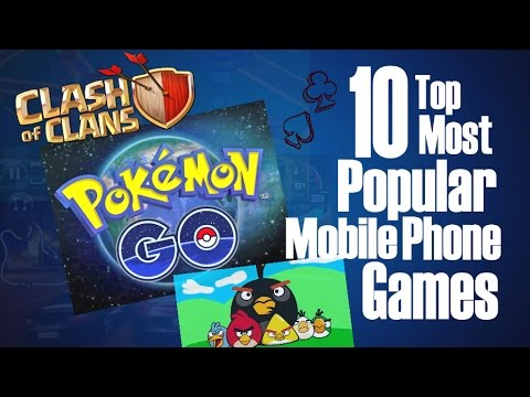 10 Top Most Popular Mobile Phone Games
