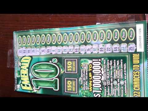Emerald 10s Scratchoff winner