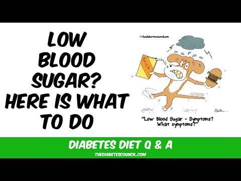 How To Treat Low Blood Sugar (Diabetes Type 2)