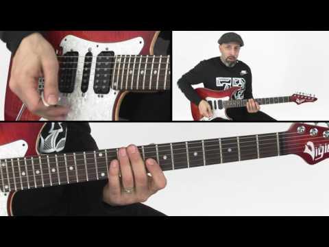 How to Play Pinch Harmonics - Guitar Lesson - Chris Buono