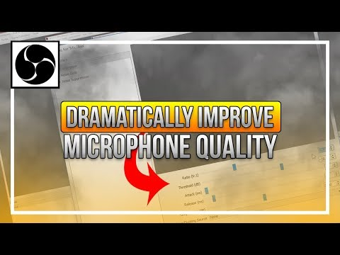 EASILY Improve Your Microphone Quality on OBS (Livestream & Recording)