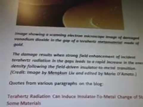 Line 22f1fa19c3m1b7a3 Vanadium Dioxide Terahertz Radiation Metal Transition 5g WOW SETI