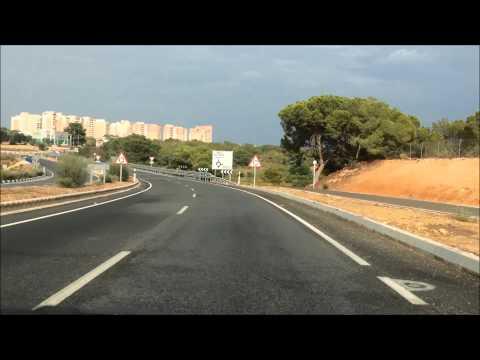 Route vanaf Murcia Airport naar Appartement Cabo Roig