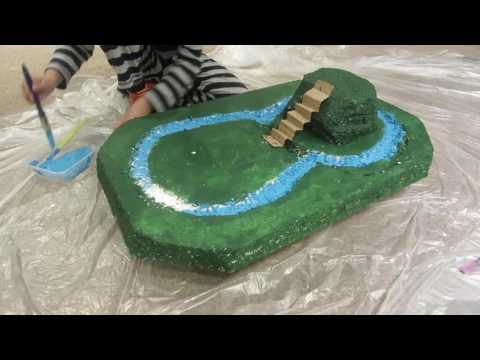 A Home Built Norman Motte & Bailley Castle, by Aryan Dhunna