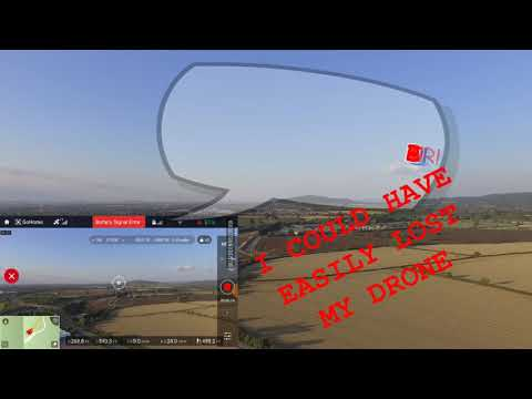 DO NOT LOSE your Phantom, A common mistake, Must see Dji Phantom 3 standard nearly a crash