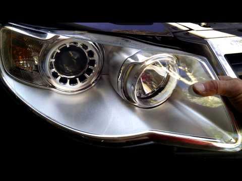 2009 Touareg H7 headlight replacement