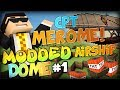 BUILDING THE BEST AIRSHIP - Minecraft MODDED Battle Dome - Airships Mod #1 w/ Friends