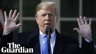 Five false claims from Trump's national emergency speech