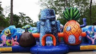 360° Spongebob Toddler Bounce House | Sky High Party Rentals