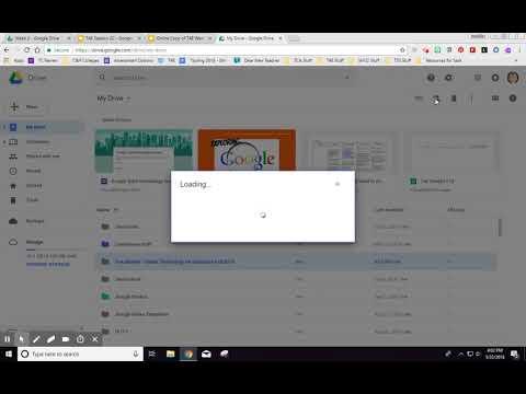 Online T4E - Creating Your Google Shared Folder