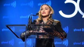 "Madonna at the 30th Annual GLAAD Media Awards: ""We choose love, and we will not give up."""