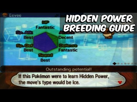 Pokemon Sun and Moon Breeding Guide - PART 5 - Hidden Power Breeding