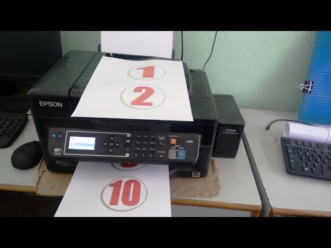 Print Speed Testing of Epson L565 Color Printer (Standard & High Quality)