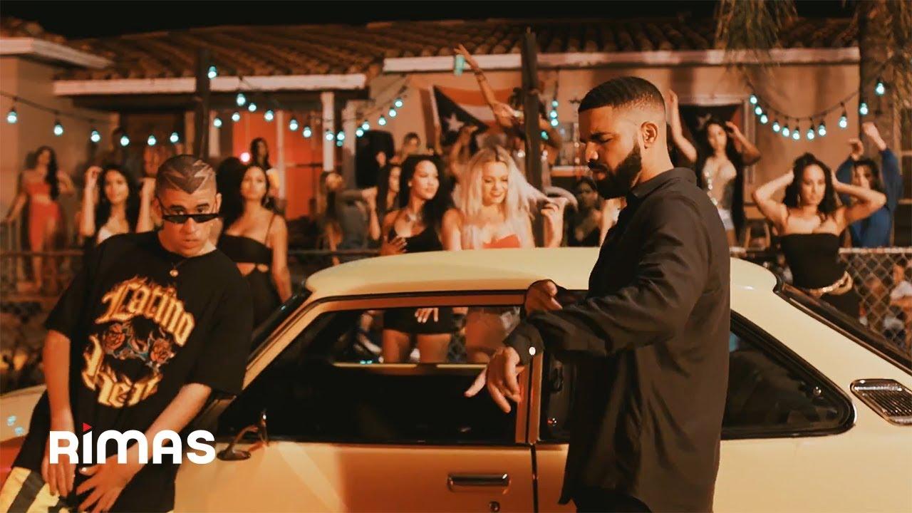 Bad Bunny feat. Drake - Mía ( Video Oficial )