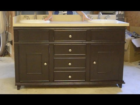 Building a Double Sink Bathroom Vanity - Part 3
