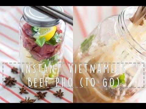 INSTANT VIETNAMESE BEEF PHO (TO GO) | RECIPE