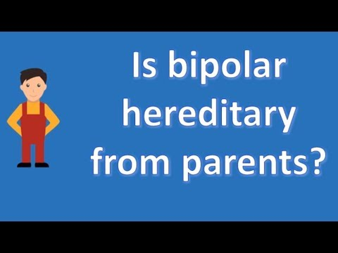 Is bipolar hereditary from parents ? | Health FAQ Channel