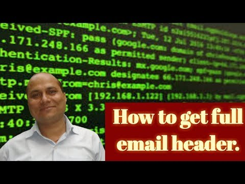 How to get full Email Header|| By Rajesh Kumar