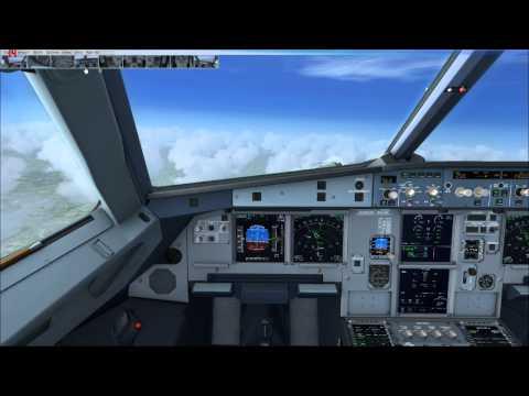 London Heathrow to Manchester full flight on Vatsim - FSX