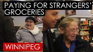 Buying Strangers' Xmas Groceries | Random Act of Kindness 2016