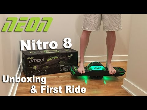 One Wheel Electric Board Unboxing & First Ride - Neon Nitro 8